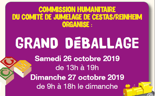 grand déballage octobre 2019